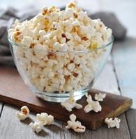 Glass Popcorn Bowl