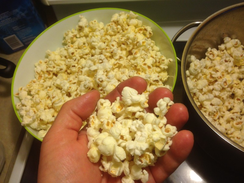 Popcorn At Home